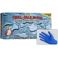 Emerald Total-Max Hi Risk Powder Free Latex Exam Gloves-15mil (Case of 500)