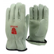 Cowhide Full Grade A leather work glove with insulation